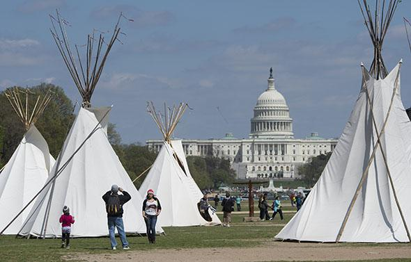 protest against the Keystone XL pipeline.