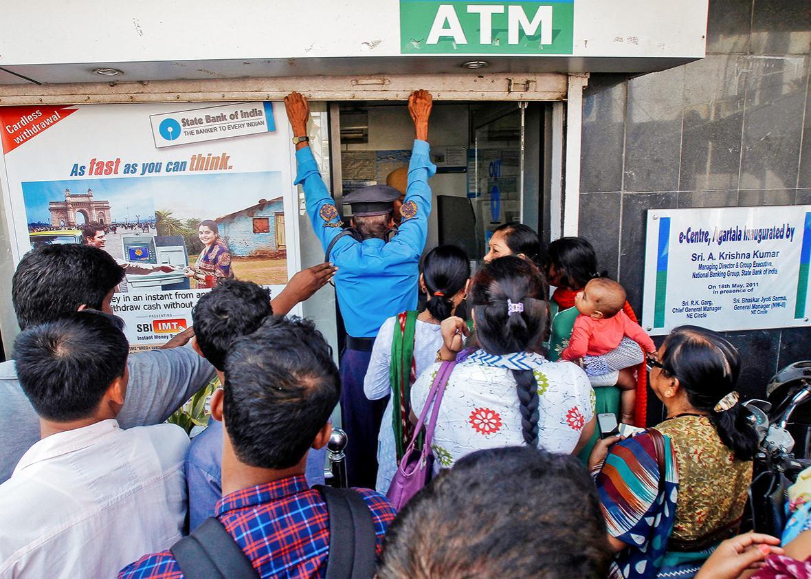 Cash crisis in India