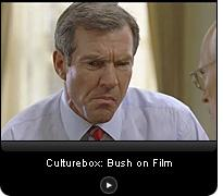 Click here to watch a video slide show about George Bush on film.