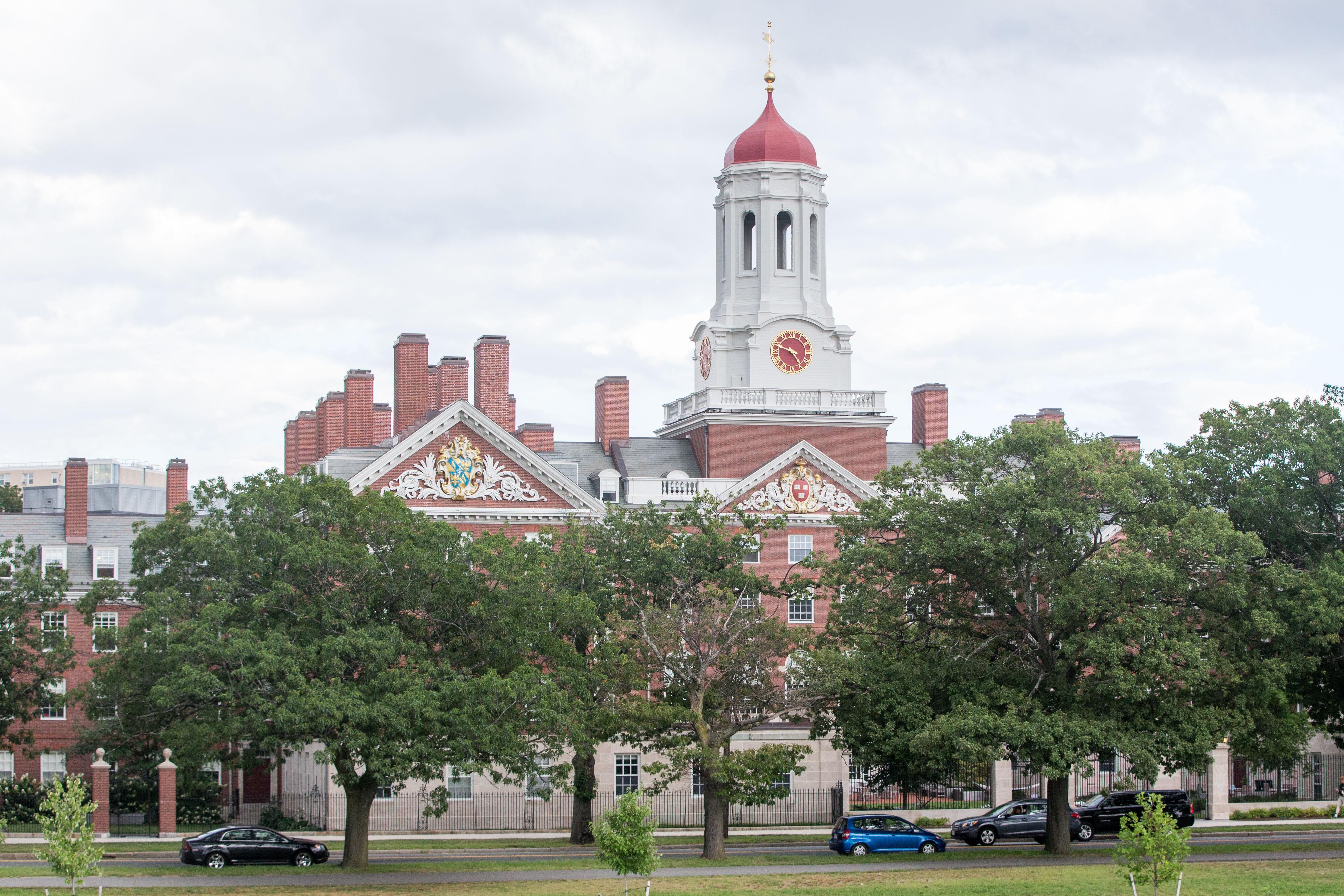 Some fancy Harvard building.