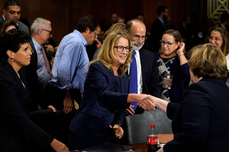 Christine Blasey Ford mentioned the GoFundMe campaigns during her testimony.