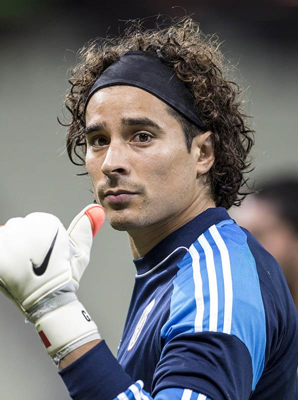 Guillermo Ochoa goalkeeper of Mexico during a training session on June 16, 2014 in Fortaleza, Brazil.
