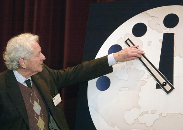 Doomsday clock 2015