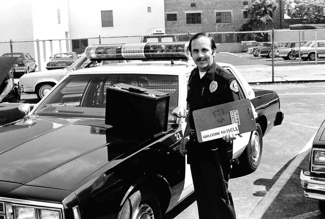 "June 27, 1985: Officer Bill Walton (""Welcome to Hell"")."