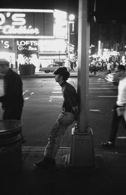 Chicken in Times Square, August 1965, IC Rapoport