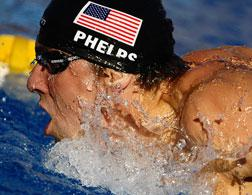 Michael Phelps. Click image to expand.