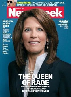 Newsweek cover: The Queen of Rage