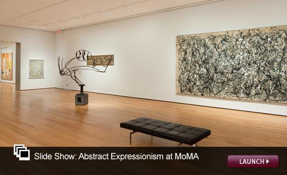 Slide Show: Abstract Expressionism at MoMA. Click image to launch.
