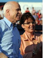 John McCain and Sarah Palin. Click image to expand.