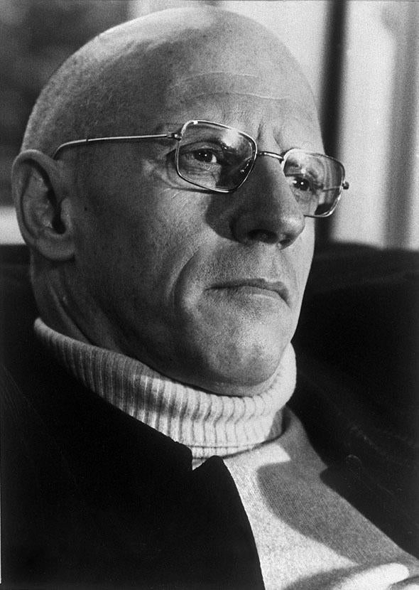 French philosopher Michel Foucault shown in an undated photo in Paris.