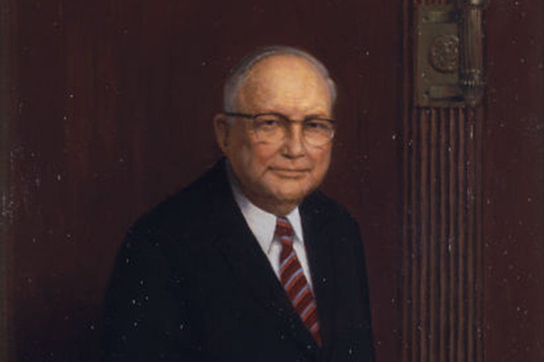 The official portrait of Senator Eastland.
