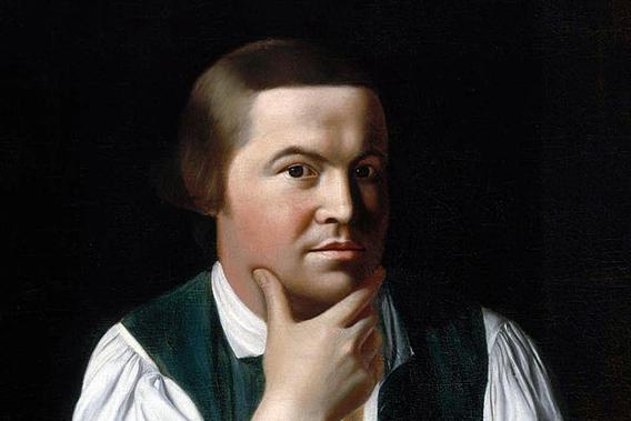 Portrait of Paul Revere by John Singleton Copley, oil on canvas, 1768.