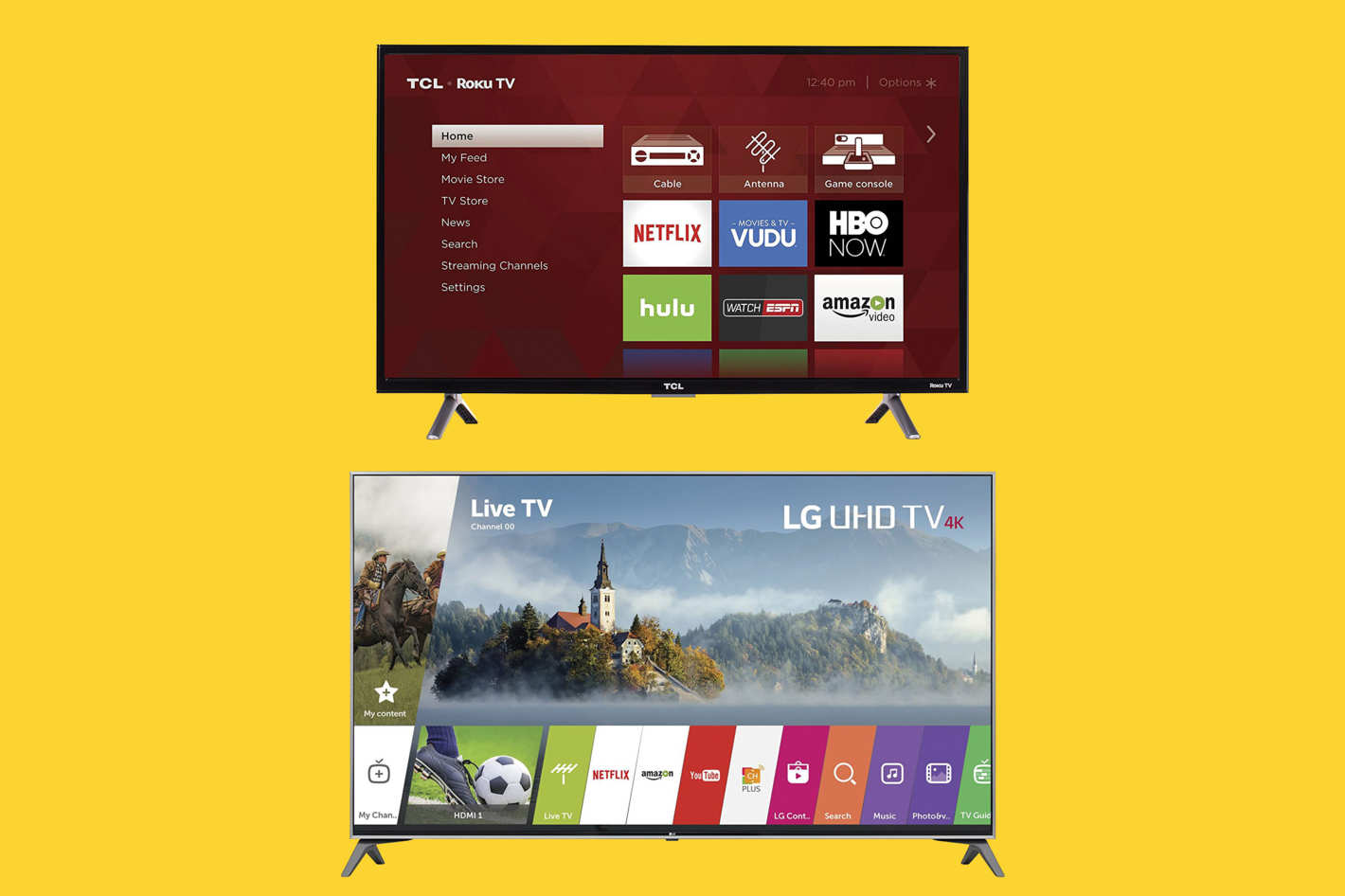 LG Electronics 65-inch 4K Ultra High-Definition Smart TV.
