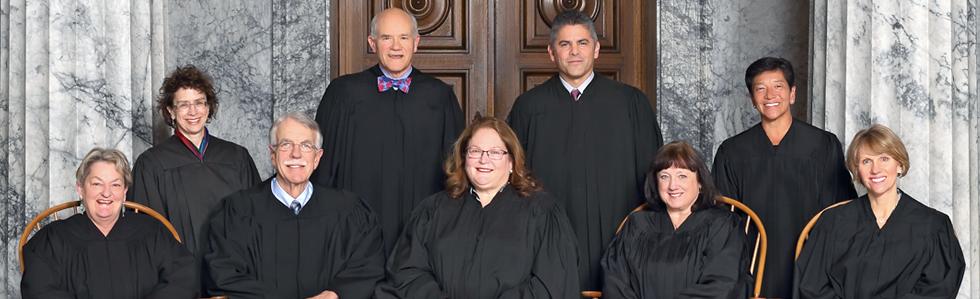 Members of the Washington Supreme Court.