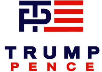 trump pence logo.