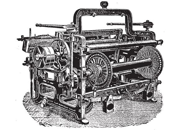William Gilmour, power loom: The Industrial Revolution and