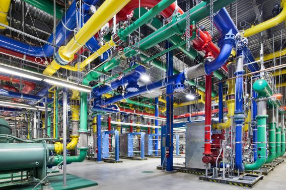 Google data center in The Dalles