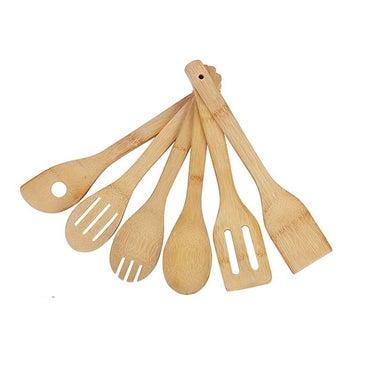 Bamboo utensils.