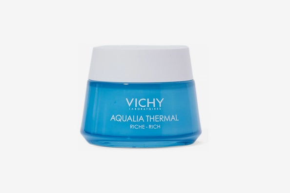 Vichy Aqualia Thermal Rich Cream Face Moisturizer with Hyaluronic Acid