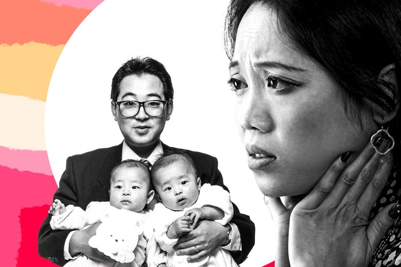 Wives correcting husbands' child care: parenting advice ...