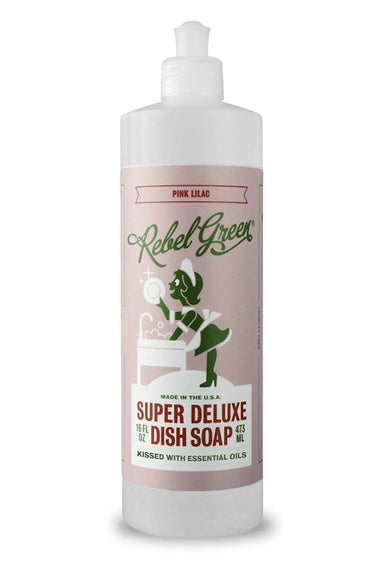 Rebel Green Super Deluxe Dish Soap