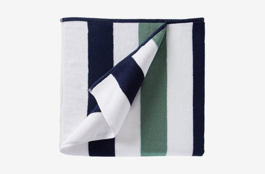 Laguna Beach Textile Co. Plush Cabana Beach Towel.