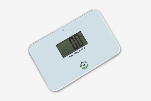 NewlineNY Auto Step-On Super-Mini Travel Bathroom Scale.