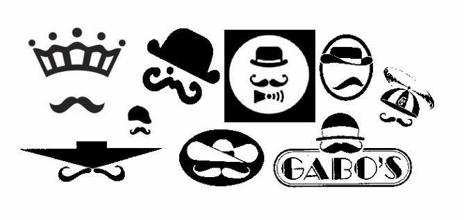 6 mustache face logos (668x318)
