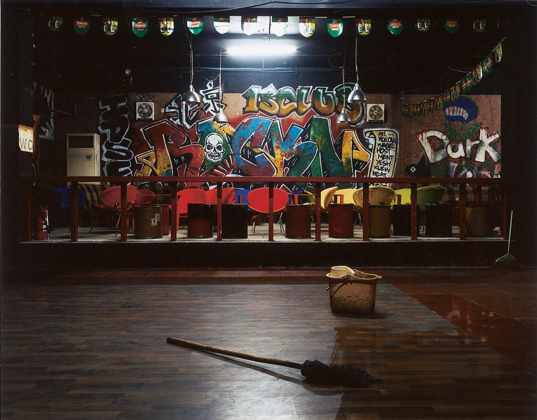 Club 13, Punk Club, Beijing, China, 2005.