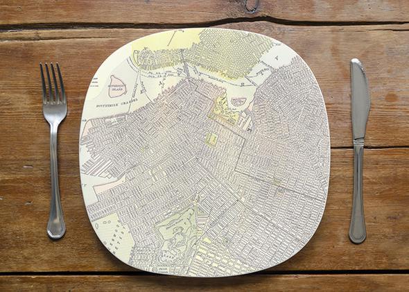 Brooklyn Food Map