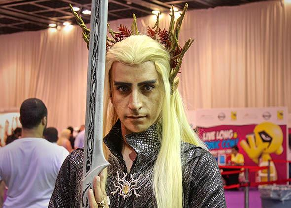 Elvenking from J.R.R. Tolkien's Lord of the Rings.