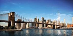 View with Brooklyn Bridge