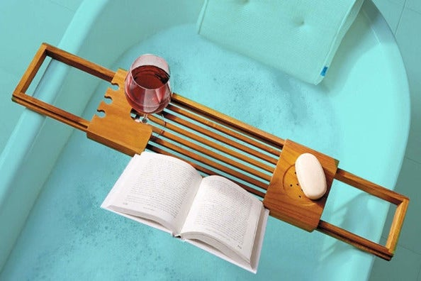 Haven Teak Bathtub Caddy