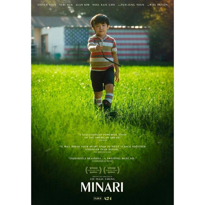 The poster for Minari.