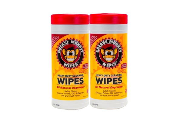 Grease Monkey Wipes Heavy Duty Multi Purpose Cleaning Wipes