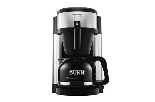 BUNN 10-cup coffee brewer.