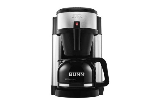 BUNN 10-cup coffee brewer.