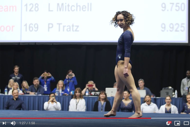 Katelyn Ohashi's Viral Floor Exercise Routine Could Only Exist at UCLA