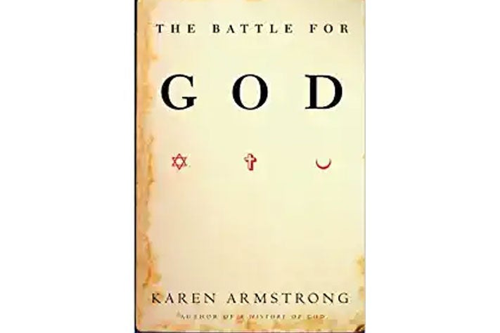 The Battle for God book cover.