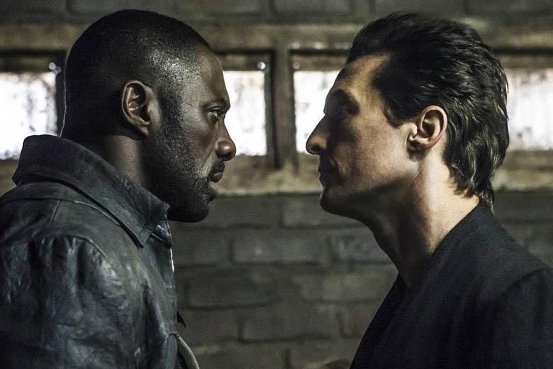 Matthew McConaughey and Idris Elba in The Dark Tower.