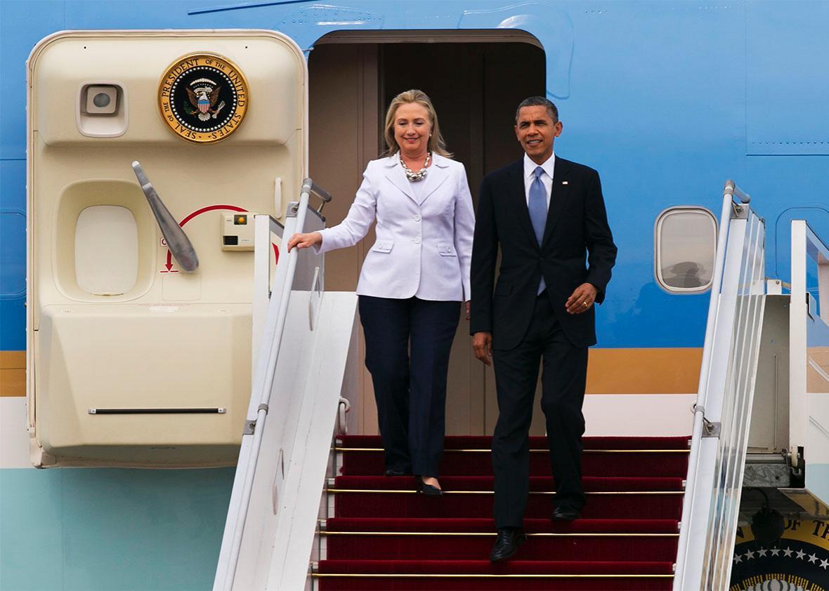 Hillary Clinton Obama.