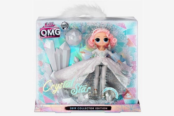 L.O.L. Surprise! Winter Disco O.M.G. Crystal Star 2019 Collector Edition Fashion Doll