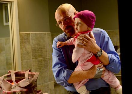 Walter White and Holly