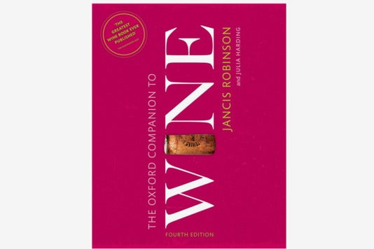 The Oxford Companion to Wine book.