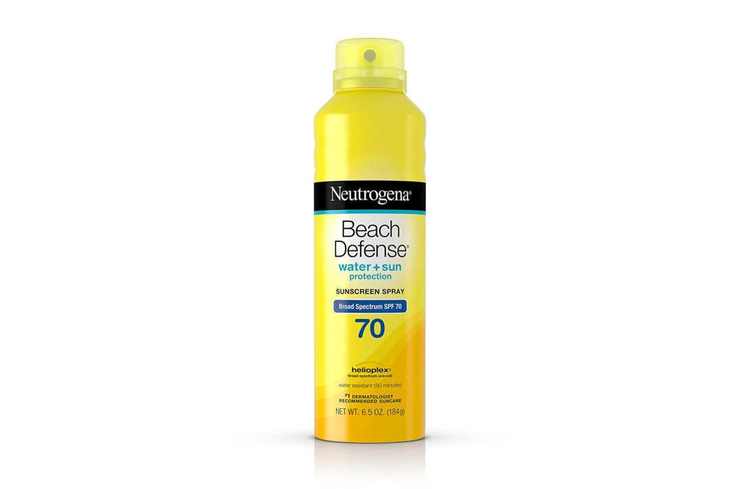 Neutrogena sunscreen spray.