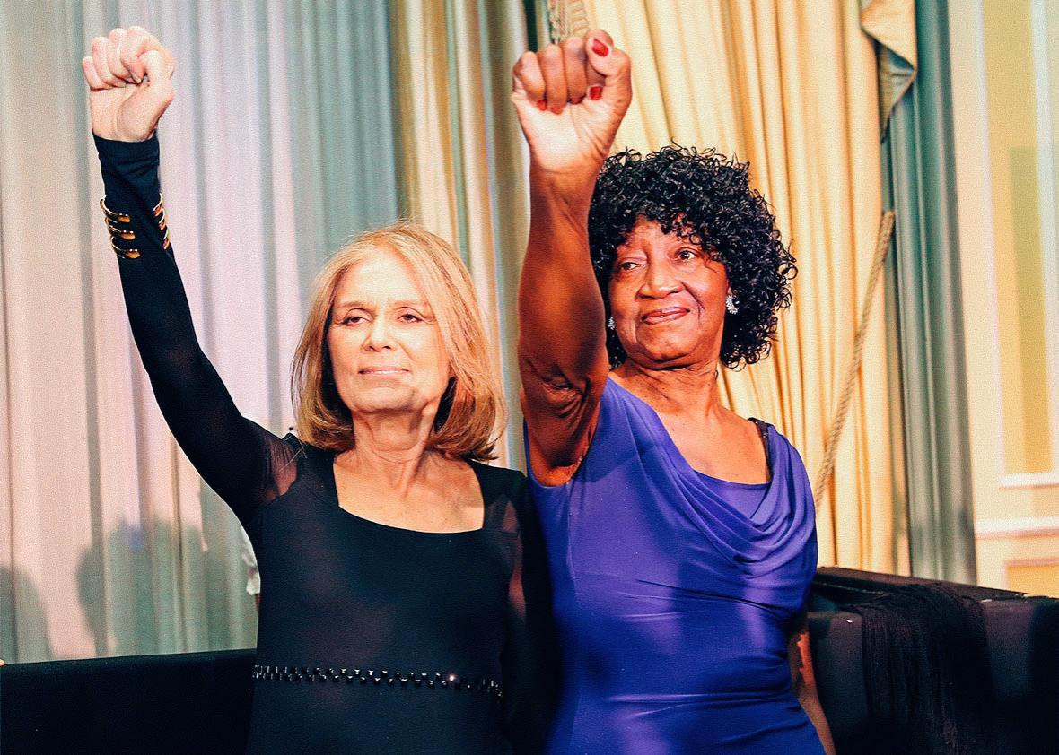 Gloria Steinem & Dorothy Pitman Hughes