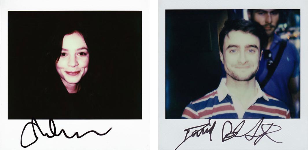 Left: Carey Mulligan Right: Daniel Radcliffe
