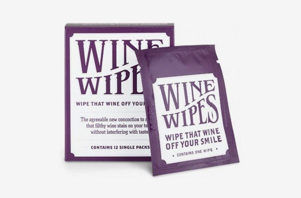 True Wine Stain Removing Wipes, 12-Pack