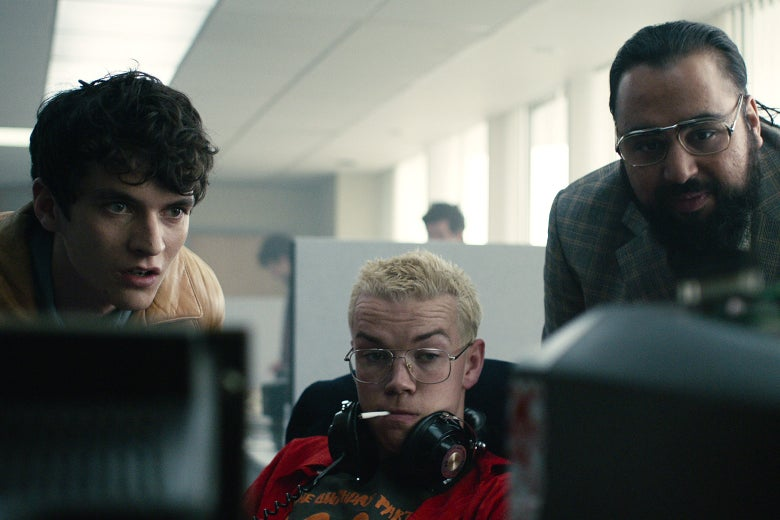 A scene from Black Mirror: Bandersnatch.