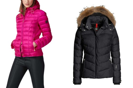 Padded jacket and padded jacket with fur.